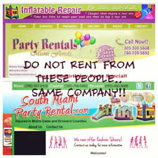 party rentals miami south miami party rentals 39 photos party equipment rentals