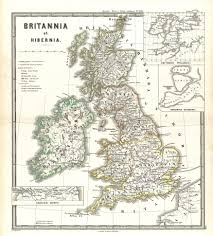 A Map Of England by A Map Of England And Ireland