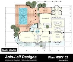 Contemporary House Plans by House Plans Design Home Design Ideas Contemporary Home Plan