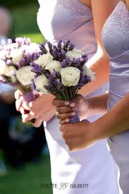 lavender bouquet backyard ontario wedding from a simple photograph white roses