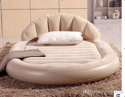 2017 bestway super luxury circular inflatable mattress on the back