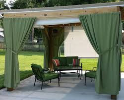Nemesis Indoor Outdoor Curtain Rod by Outdoor Curtain Rods And Hardware In Fancy Patio With Outdoor