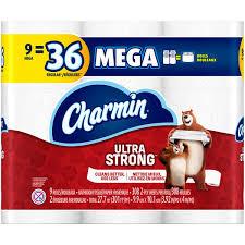 Charmin Bathroom Charmin Ultra Strong Bathroom Tissue Mega Rolls From Pick U0027n Save