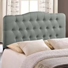 Queen Headboard Upholstered by Modway Annabel Queen Upholstered Headboard Multiple Colors