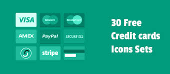 Credit Card For New Business With No Credit 30 Free Credit Card And Payment Methods Icons Set For Your Store