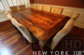 how to finish a table top with polyurethane reclaimed harvest table new york threshing gerald reinink 7 blog