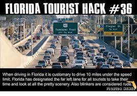 Florida Rain Meme - florida tourist hack 36 flagler st mile tamiami trail ekit 34 mile