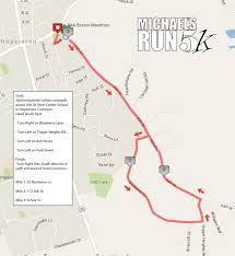Run Map Michael U0027s Run 5k