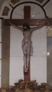 large crucifix file large crucifix at pilar goa jpg wikimedia commons