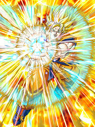 supreme warrior awakened super saiyan goku dragon ball dokkan