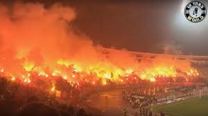 Wildfire Eternal Buy by See Footage Of The Craziest Fans In The World At The Eternal Derby