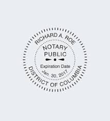 notary seal information nna
