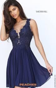 sherri hill short prom dress 50756 at peaches boutique