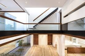homes interiors a sleek modern home with indian sensibilities and an interior