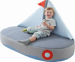 Bean Bag Chairs For Boats Haba Boat Children S Couch