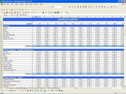 Template For Budgeting Money Spreadsheet Templates For Budgets Haisume