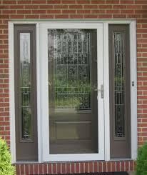 Fiberglass Exterior Doors With Sidelights Front Doors Fiberglass Entry With Glass Afterpartyclub