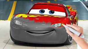 cars 3 lightning mcqueen coloring pages video for kids youtube