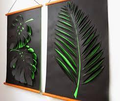 wandgestaltung in grün kreative wandgestaltung flur und wohnzimmer mit diy 3d bildern aus