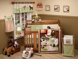 Nojo Crib Bedding Set Nojo Farm Babies Animals 5pc Crib Bedding Set Quilt Bumper Sheet
