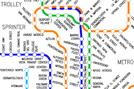 Portland Metro Map by Fantasy Map North American Metro Map By Mark Transit Maps