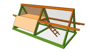 simple a frame chicken coop plans with chicken coop building