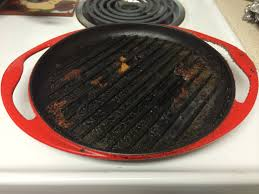 Best Grill Pan For Ceramic Cooktop Equipment How Do I Clean My Cast Iron Grill Pan Seasoned Advice