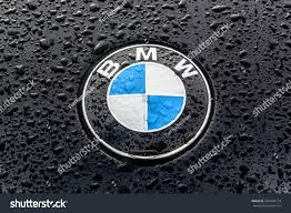 Moscow Russia February 2017 Sign Bmw Stock Photo 584292124