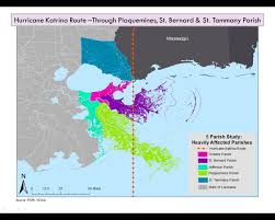 Louisiana Parish Map With Cities by Vernessa Introduction To Gis