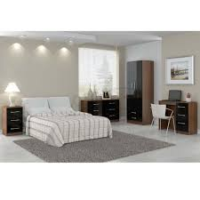 bedroom compact black bedroom furniture vinyl pillows lamps