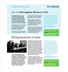 business newsletter template u2013 9 free psd eps indesign pdf