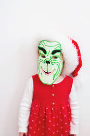 Grinch Halloween Costume Laughing Latte Kids Whoville Costume Free Grinch Mask