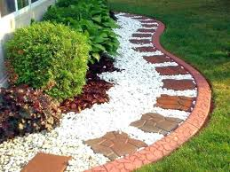 Rock Garden Pics Landscaping Ideas With Mulch And Rocks Simple Rock Landscaping