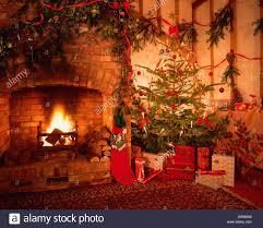 log christmas tree christmas lights decoration