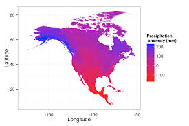 North America Temperature Map by Making Maps Of Climate Change
