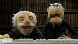 Waldorf And Statler Meme - statler and waldorf gifs get the best gif on giphy