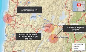Port Of Los Angeles Map by Sal De Los Angeles U2013 Lithium X