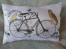 23 best bicycle pillows blankets images on pinterest cushions