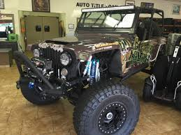 jeep yj custom jeep wrangler custom supercharged c o p crocker offroad