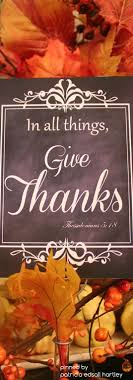 i wish you all a happy and blessed thanksgiving may your a