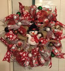 mesh ribbon ideas 26 diy tutorials and ideas to make a snowman wreath guide patterns