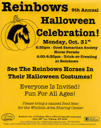 reinbows 9th annual halloween celebration monday oct 31st 2