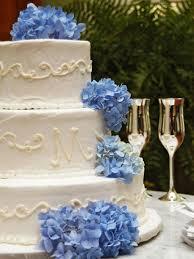innovation hydrangea wedding cake on wedding cakes with green