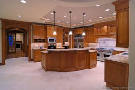 Pictures Of Kitchens Traditional Medium Wood Cabinets Golden Brown
