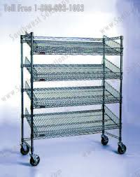 Shelves With Wheels by Rolling Wire Carts Stainless Storage Shelving Dallas Houston