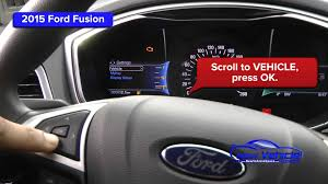 ford fusion hazard lights 2015 ford fusion oil light reset service light reset youtube