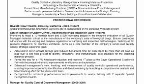 Microbiologist Sample Resume Free Download Controls Technician Sample Resume Resume Sample