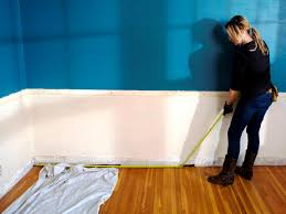 Recessed Wainscoting Panels How To Install Recessed Panel Wainscoting How Tos Diy