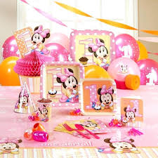 Fantastic Minnie Mouse 1st Birthday Decoration Mouse Birthday