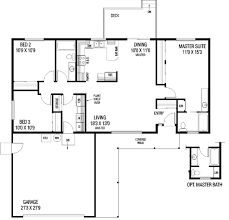 ranch style house plan 3 beds 2 00 baths 1280 sq ft plan 60 448